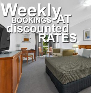 weekly bookings