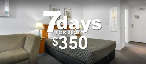 7 days $350